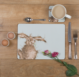 Set 6 placemats Hare - Wrendale Designs_