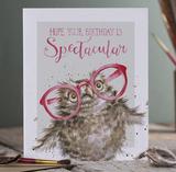Wenskaart 'Spectacular birthday' - Wrendale Designs_