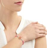 Armband Pink daisy-roze bandje_