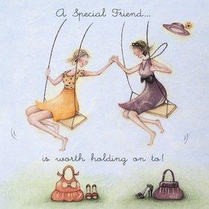 Wenskaart a special friend - Berni Parker