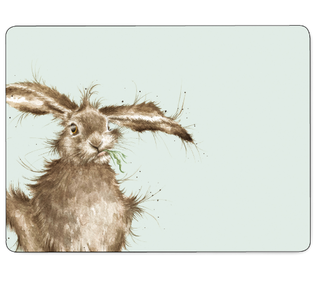 Set 6 placemats Hare - Wrendale Designs