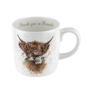 Large Mug - Thank you - Daisy Coo - Wrendale Designs by Royal Worcester