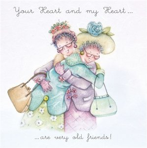 Wenskaart 'Your Heart and my Heart' - Berni Parker