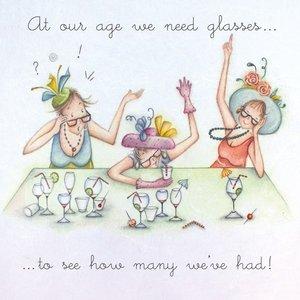wenskaart we need glasses